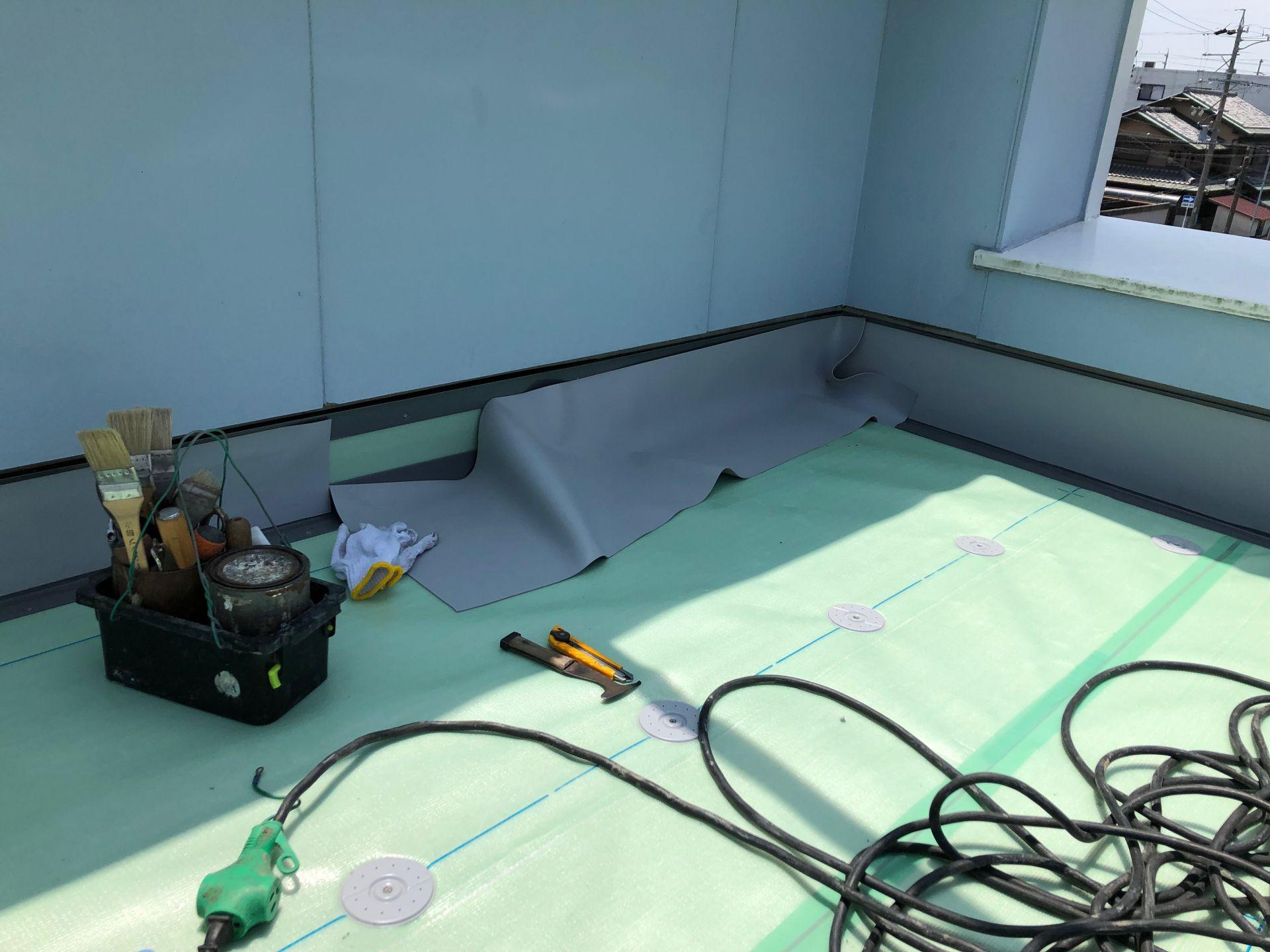 天井からの漏水【ルーフ防水再施工】リノベブログ