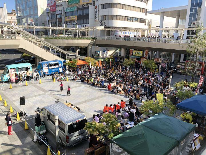 うずうず祭り【豊橋駅前広場】ワクワクブログ
